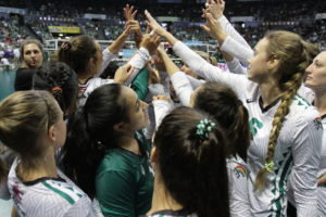 For $50 each semester, KCC students – if the proposal is approved –would be able to watch as many UH Rainbow Wahine volleyball matches as they would like.