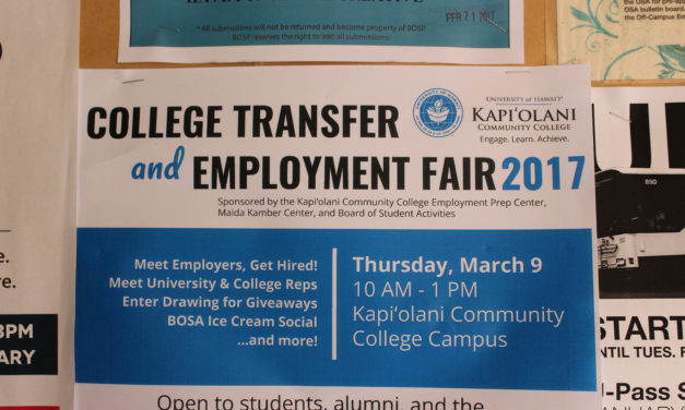KCC to Host College Transfer, Employment Fair