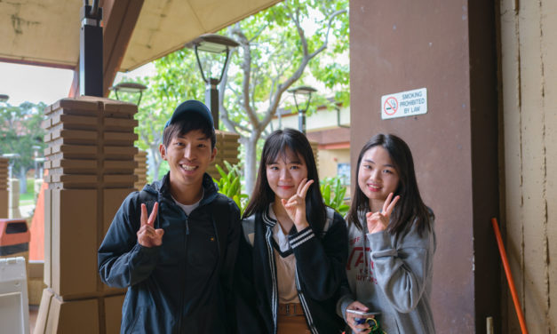 Word on the Street: International Students at KCC