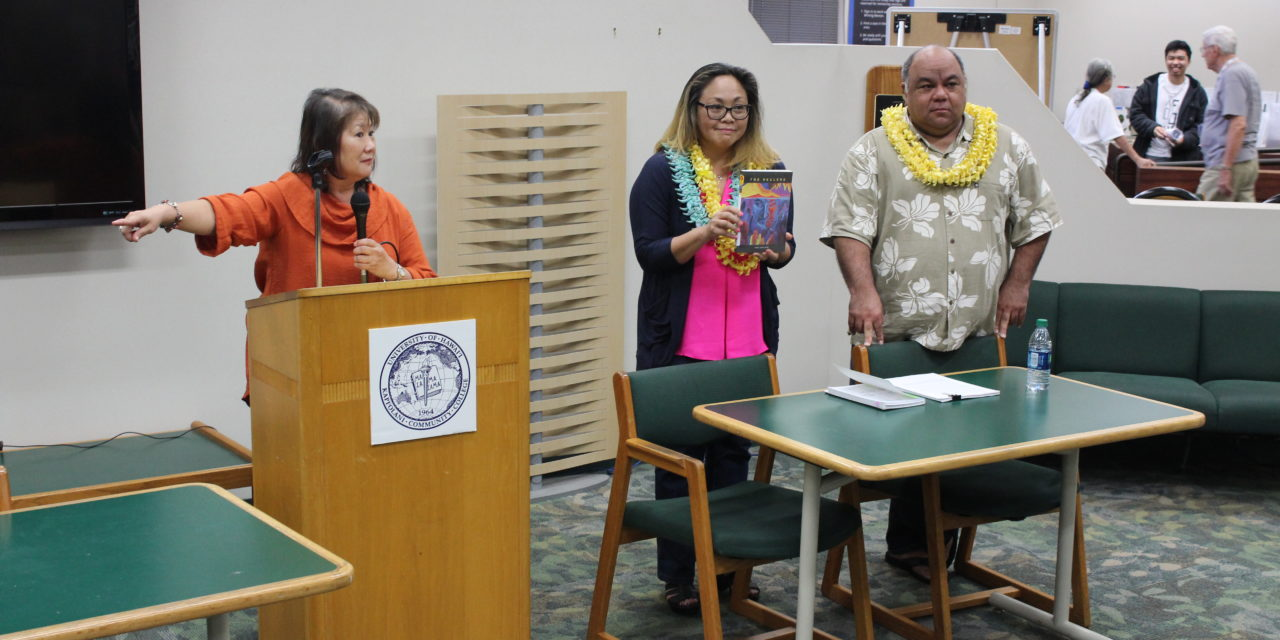 Hawai'i Writers Share Works, Knowledge During Literary Reading