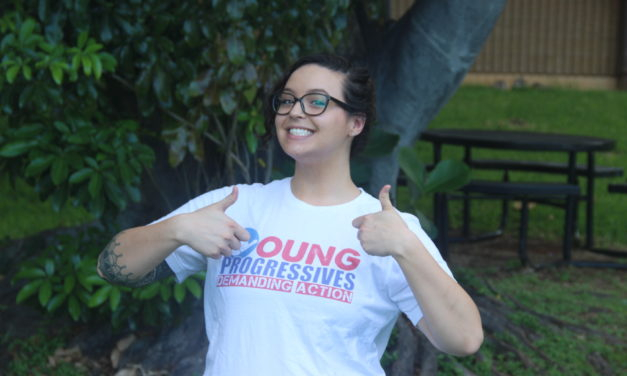 KCC Student Takes Active Role in Local Political Organizing