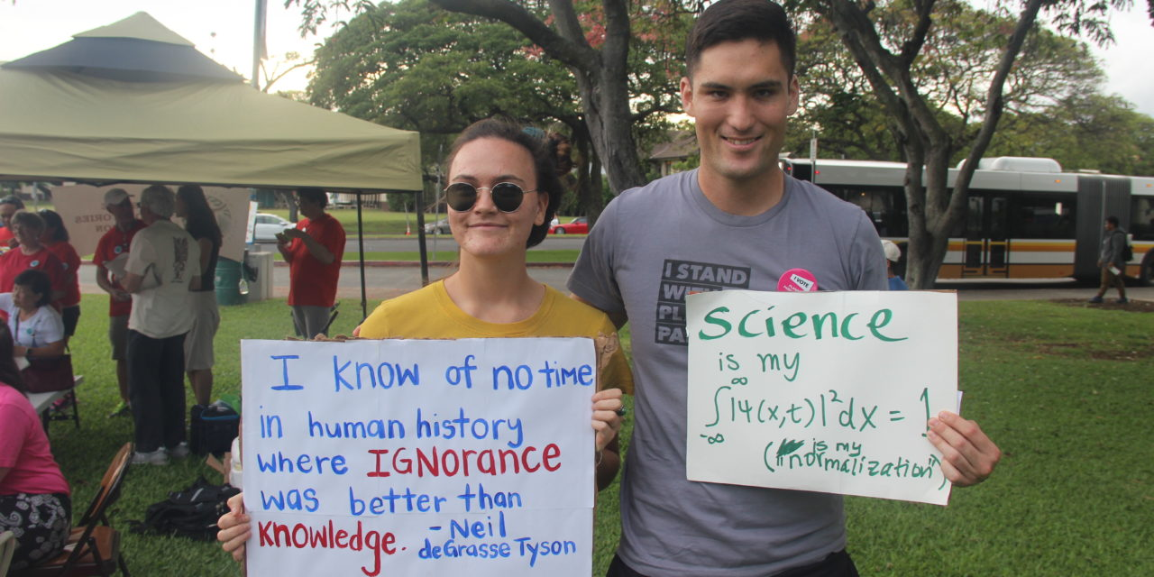 Why I March: Honolulu March for Science