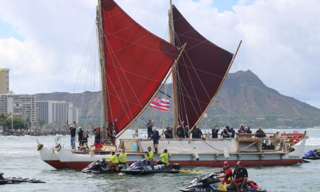 Hōkūleʻa Returns Home After 3-Year Voyage