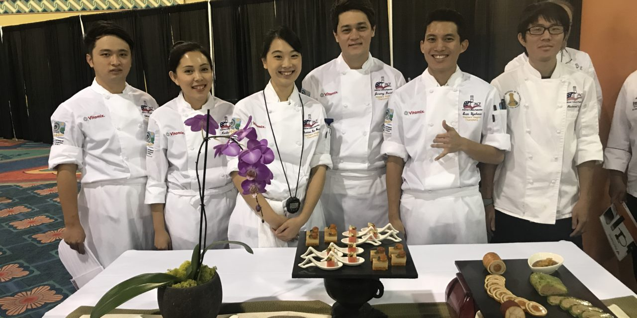 Team Hawaiʻi Places Third in National Culinary Competition