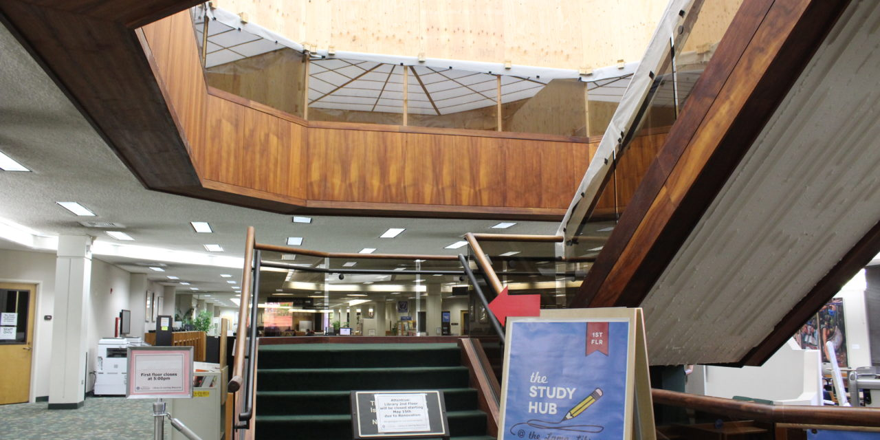 Library Renovations to Expand Study Hub, More Tutoring Services