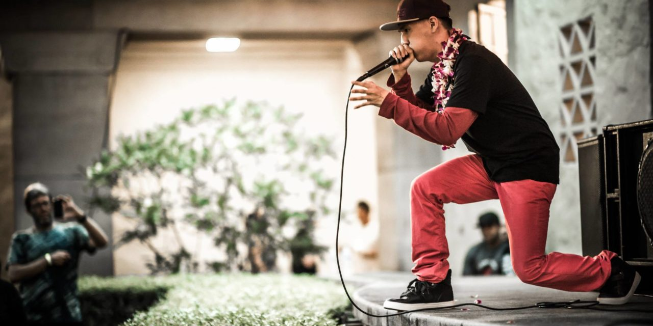 KCC Alumnus Inspires Community Through Beatboxing, Motivational Speaking
