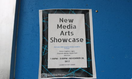 New Media Arts To Showcase Students' Work