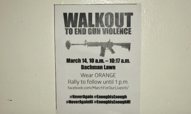 Never Again Walkout to End Gun Violence