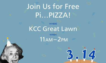 KCC Clubs Collaborate to Host 1st Pi Day