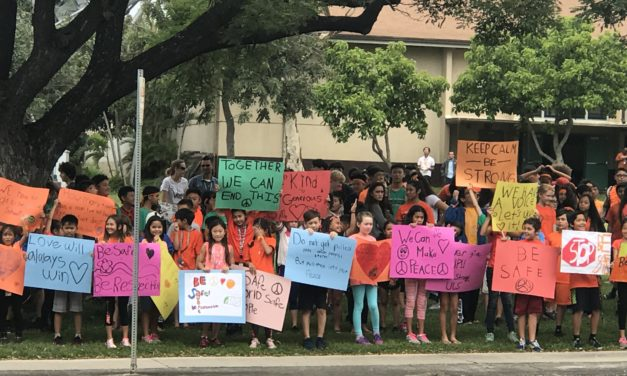 Hawaiʻi Schools Participate in 'National School Walkout'