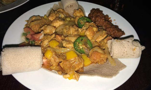 Review: Ethiopian Love Provides Unique Food in Honolulu