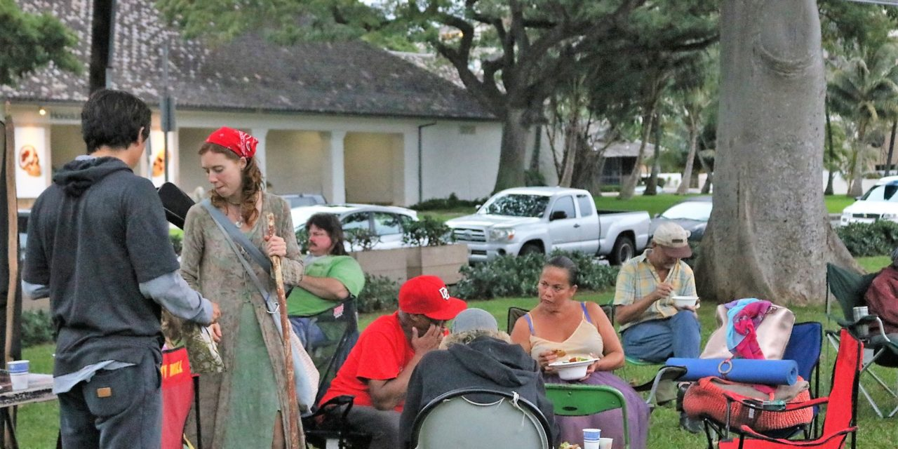 Community Comes Together To Feed Homeless, Provide 'Normal Social Situation'