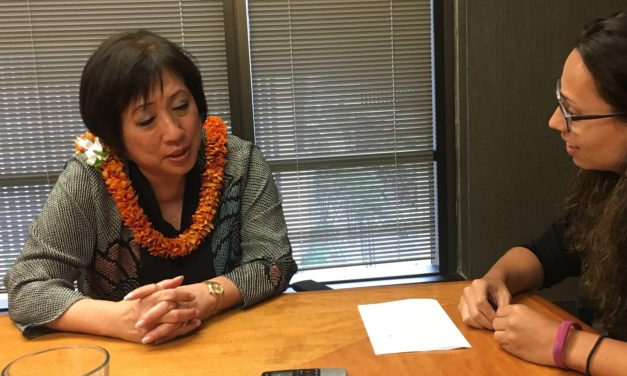 Hanabusa Encourages Young People to 'Participate'