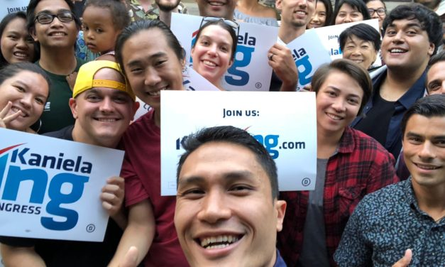 Kaniela Ing Hopes to Push Progessive Ideas in Congress