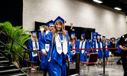 KCC's Valedictorian Took the Hard Road to Graduation