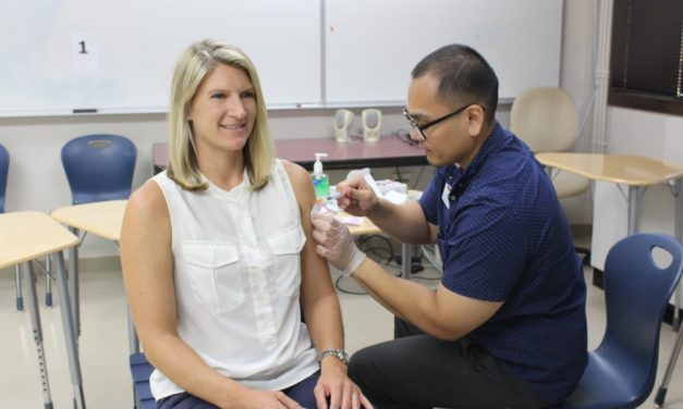 Vaccinations Provided at KCC to Prevent Flu