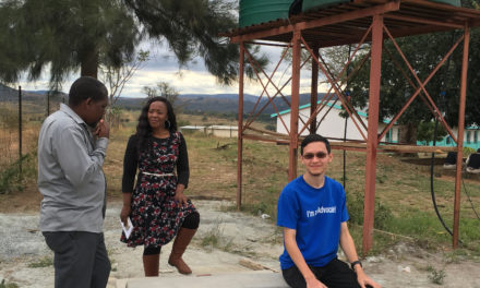 KCC Student Finds 'Community' in Volunteer Opportunities in Africa