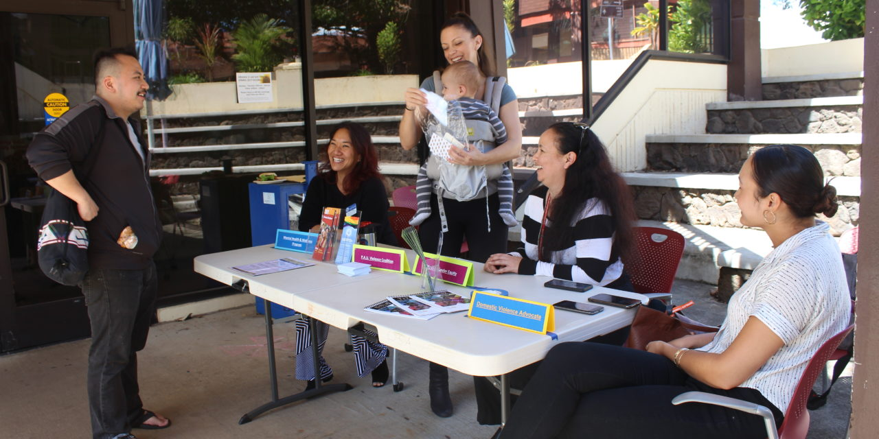 Talk Story Tuesdays Bring Awareness to Campus Resources