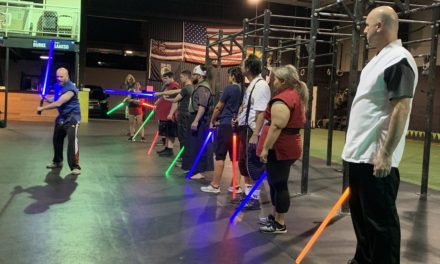 KCC Alum's Lightsaber Academy Showcases Light and Dark Sides