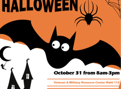 Veterans Club to Host Halloween Party