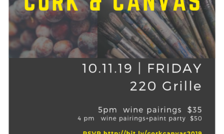 Wine, Painting Fundraiser at 220 Grille