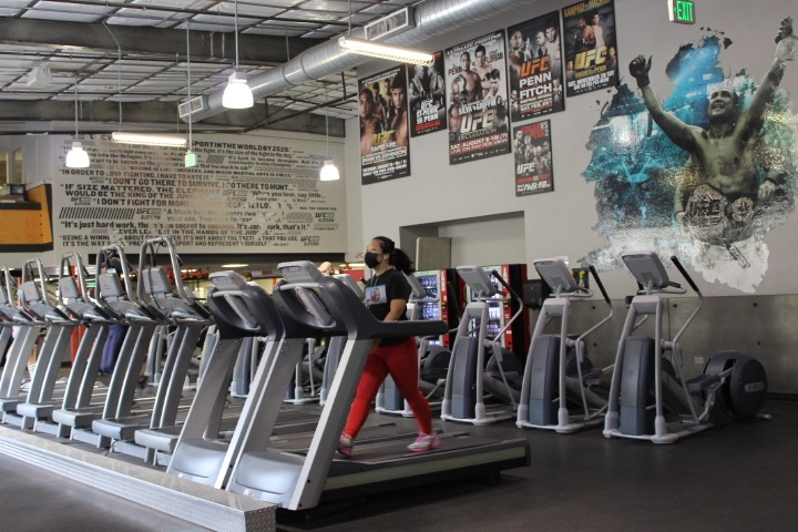 Gym Patrons Happy to Be Back