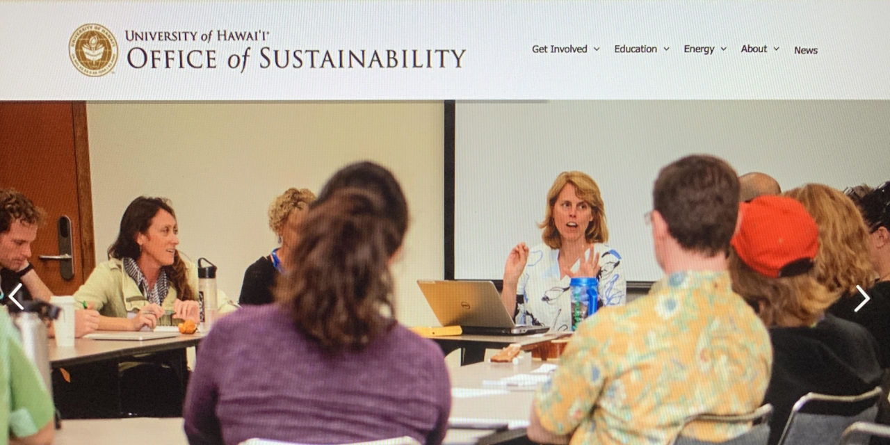 Climate Month: Faculty Merge With Sustainable Focus