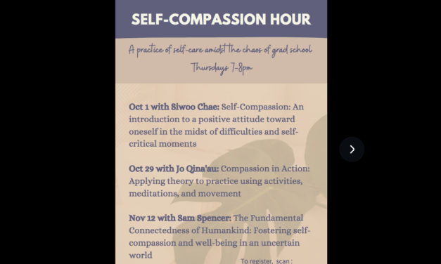 UH Mānoa Presents Self-Compassion Hour