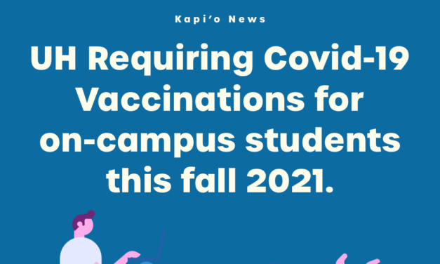 UH, Community Colleges to Require COVID-19 Vaccination for On-Campus Students this Fall